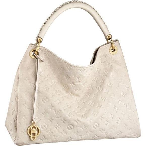 Louis Vuitton Handbags - Louis Vuitton Artsy MM Neige Empreinte Hobo Bag